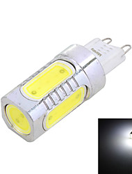 G9 7W 550LM 6000K koel wit licht LED-lamp (220V)
