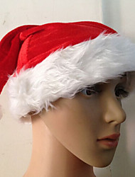 Red Velvet Christmas Hat