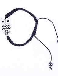 Bracelet Charmes pour Bracelets Alliage Tissu Emaillé Chouette Original Mode Soirée Quotidien Décontracté Sports Bijoux Cadeau1pc
