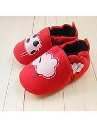 Mocassins ( Vermelho ) - de MENINA - Sapatos para Primeiros Passos/Sapatos de Berço