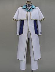 Inspirado por Terra Formars Komachi Onozuka anime Cosplay Costumes Ternos de Cosplay Patchwork Branco Manga CompridaCapa / Casaco /