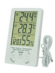 temperatura e umidità contatore elettronico interno ed esterno ta298 con il termometro della sonda