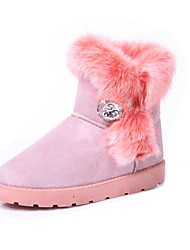 Women's Shoes Snow Boots  Round Toe Low Heel Mid-Calf Boots More Colors available