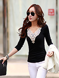 XNR Women's Fashion Casual Lace Blouse