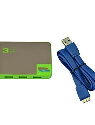 Hub USB 3.0 con 4 puertos portátil y la tasa de transmisión de alta velocidad