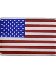 EE.UU. insignia del coche (la bandera de los Estados Unidos), la insignia del coche individualidad bricolaje