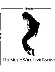 Fashion PVC Forever Michael Jackson Wall Stickers