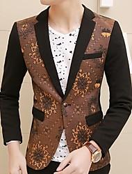 Men's Long Sleeved Casual Blazer