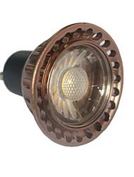 Luces de Doble Pin MR16 GU10 7 W 1 COB 630 LM 3000 K Blanco Cálido AC 85-265 V