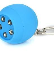 Creative Ball 5-LED Keychain Flashlights(AG10*3)