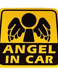 bricolage ange de la série dans le design automobile sticker PVC de décoration pour voiture