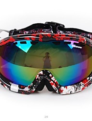 Wind Dust Protection Anti UV Colorful Double Lens Riding Goggles Skiing Goggles