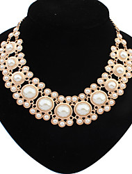 Welly 欧美时尚珍珠气质精品项链 时尚新款104937图片色