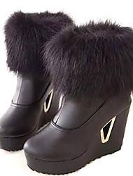Zhuoyue Women's Fashion Platform Snow Boots