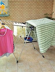 byn acier inoxydable vêtements pliable étendoir, 157 * 64,5 * 99cm