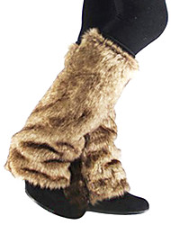 soprascarpe di eco-pelliccia per gli stivali 1 coppia