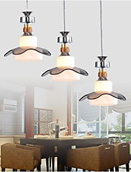 Putian@ Pendant Lights ,3 Lights Modern in Glass Feature with Height Adjustable