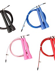 Crossfit Speed Canle Wire Skipping Jump Rope Adjustable Length Cardio Heart
