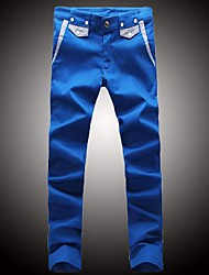 Men's Korean Casual Candy Color Pants