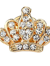 coroa pin forma busto das mulheres kl