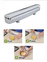Kitchen Plastic Food Wrap Dispenser