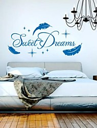 Wall Stickers Wall Decals, Modern Sweet Dream Quote PVC Wall Stickers.