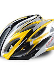 fjqxz 23 Вентс EPS + PC желтый целое формованием Велоспорт Шлем (58-63cm)