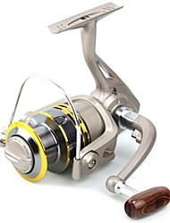 Fishing Reel Spinning Reels 5.1:1 6 Ball Bearings Exchangable / Right-handed / Left-handed Ice Fishing / Spinning / Jigging Fishing