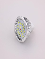 7W LED Spotlight MR16 15 SMD 5630 650 lm Warm White DC 12 V