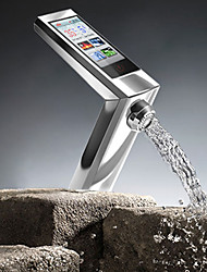 Digital Electric kitchen Faucet Touch type induction