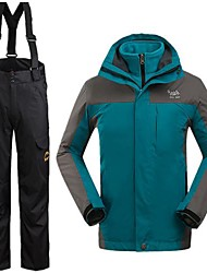 Men's Winter Jacket / Clothing Sets/Suits Skiing Waterproof / Thermal / Warm / Windproof WinterS / M / L / XL / XXL