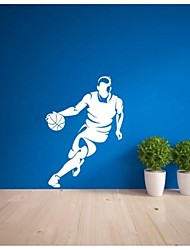 Basketball Layup Wall Stickers