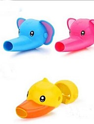 Cartoon Faucet Extender For Helps Toddler Kids Hand Washing in Bathroom Random Color