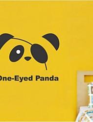 One Eyed adesivos de parede panda