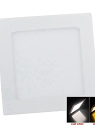 Plafonniers Décorative Blanc Chaud SENCART Encastrée Moderne 9 W 45PCS SMD 2835 550-650 LM 3000 K AC 85-265 V