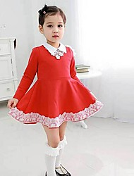 Les robes de fleurs de la mode des filles belle princesse 2015 Nouvelle Arrivée robes