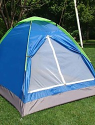 Two People Camping Finshing Super Light Tents
