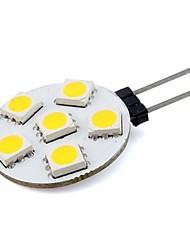1W G4 Luminárias de LED  Duplo-Pin 6 SMD 5050 76 lm Branco Quente / Branco Frio Decorativa DC 12 V