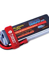 Kudian RC Battery 60C 5200mAh T Plug 5S