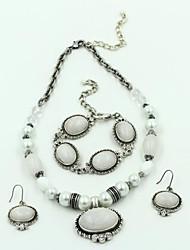 liga de prata multicamadas brinco colar pulseira conjuntos das mulheres