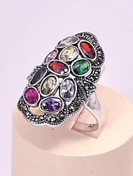 AS 925 Silver Jewelry  Zircon rings