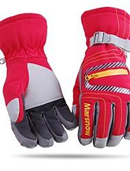 unisex fashional Wärmewasserdicht&winddicht roten Ski-Handschuhe