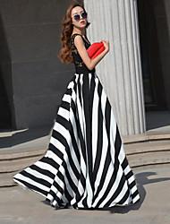 Pandora женщин нашивки макси платье