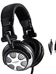 Cosonic CD-891 Headphone Wired 3.5mm Over Ear Gaming Volume Control Foldable with Microphone For PC