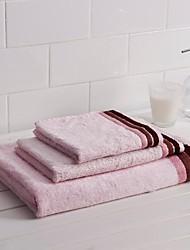3 Pack Bamboo  Bath Towel Set 1 Bath/Hand/Wash