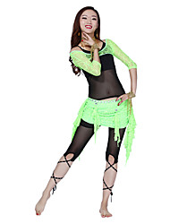 Belly Dance Dancewear Women's Exquisite Rhinestone Lace Skirts(More Colors)