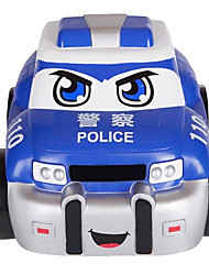 Lungcheong 859 RC Car Soft Shell Remote Control Police Fire Toy Car