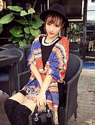 damesmode all-matching contrast kleur streep shawl (meer kleuren)
