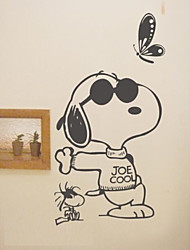 Snoopy play it cool  Wall Stickers