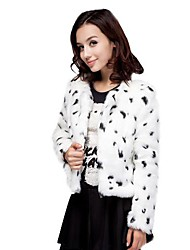 K.Y.K  Elegant Women's  Winter Fur Coat